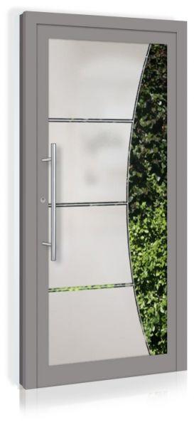 F&R VETRO-Line Ganzglashaustür Modell-Sinus