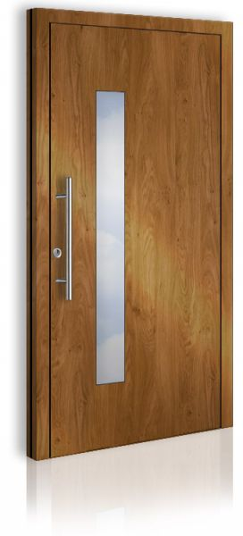 AWA 1420 Einflügelig Holzdekor