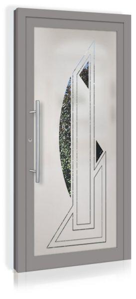 F&R VETRO-Line Ganzglashaustür Modell-Valencia