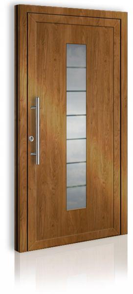 AWE 1410 Einflügelig Holzdekor