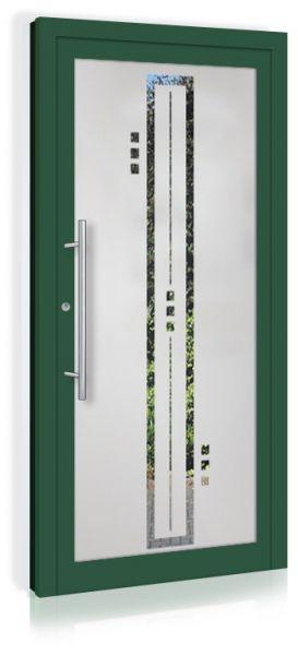 F&R VETRO-Line Ganzglashaustür Modell-Mailand